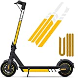 SGMY Pegatina reflectante impermeable para patinete Xiaomi Mijia, M365, E-Scooter y Ninebot...