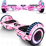 Magic Way Hoverboard - 6.5' - Bluetooth - Motor 700 W - Velocidad 15 km/h - LED - Patinete...