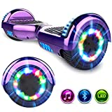 GeekMe Hoverboards 6.5 '' Self Balance Scooter Las Ruedas LED Luces, Scooter eléctrico con...