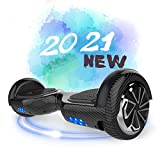 SOUTHERN-WOLF Hoverboard, Patinete Eléctrico Hoverboard, Hover 6.5 Pulgadas Board Leds, Potente...