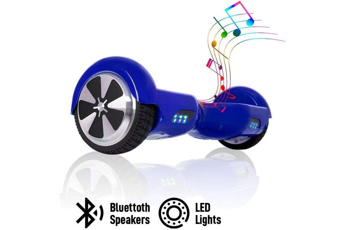 hoverboard acbk chic d01 altavoces bluetooth luces led